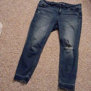 Old Navy Rockstar Skinny Ankle Jeans